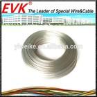 AWG10 AWG12 AWG14 AWG16 AWG18 AWG20 AWG22 AWG24 transparent teflon silver plated copper wire