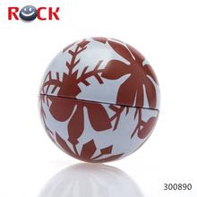 custom ball shaped mint tin box
