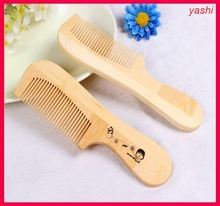 High quality difference shape wooden comb long hair bamboo comb for Yashi Brush