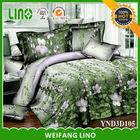 home goods bedspread/applique work bed sheet/100 cotton quilt bedspread