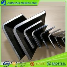 equal/unequal inox 304 steel angle bars or angle steel fabrication