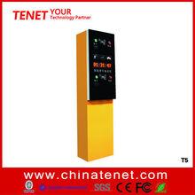 automatic parking PVC paper card dispenser for parking lot management