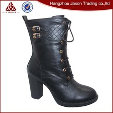 Top sale guaranteed quality high heels snow boots women