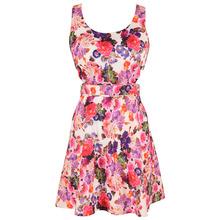 fashion elegant floral ladies party dress flower girl dresses 2480