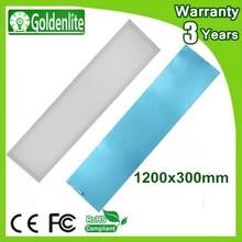1200x300 mm emergency led panel light high brightness 54w, professional led panel light factory, passed ul,ce,rohs