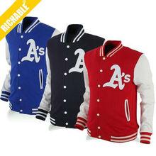 HDYK027 Fashion design Softshell New Jacket Custom Varsity Jackets Baseball Jackets