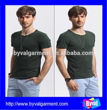 OEM Cotton/Spandex Custom Plain Promotion Man Gym T-Shirts