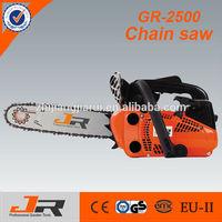 2015 high quality 2500 Gasoline Gas Chainsaw Sale