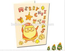 สวยงามeco- มิตรdiyอวยพรคริสต์มาสการ์ดอวยพรวันเกิดที่ทำด้วยมือการออกแบบ3d