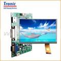 """7"""" 1024*600 usb interfaz táctil capacitiva con hdmi, vga, cvbs, de audio lcd tablero de control"""