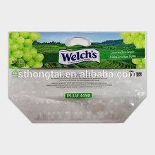 Transparent Plastic printed dried fruit bag