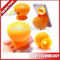 Hands free mobile speaker flat wireless bluetooth mini speaker, Waterproof mobile speaker silicon factory price