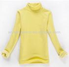 ladies turtleneck t-shirt, long sleeve t shirt, 100% cotton t-shirt