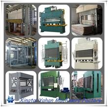 latest 2600 ton mdf hdf board hot press machine melamine paper laminating hot press machine