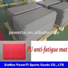 Comfortable &Safe Soft Anti-fatigue kitchen PU mat
