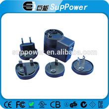 PA1015 universal travel smart adapter plug Wall Mount USB Power Supply
