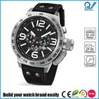 Build your watch brand easily multifunctional japan movt quartz watch price stainless steel 30 meters-100 meters water resistant