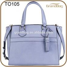 2015 lady leather handbag shoulder bag for women satchel