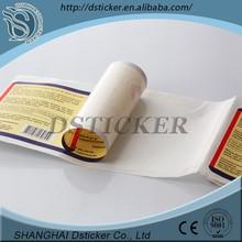 Silk/relief/intaglio printing 2014 Alibaba China roll custom plastic stickers