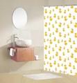ducha de dibujos animados para niños cortina cortina de la ducha de pato cortina de la ducha
