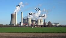 NO, NO2, CO, CO2 Toxic Gas Detector