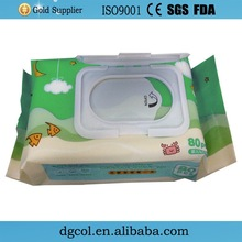 Export singapore private label small pack wet wipes