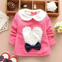 ta2008 vestiti del bambino del fumetto modello dolce baby girl camicia