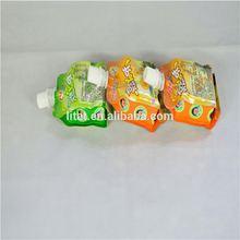 plastic fruit juice packaging bag