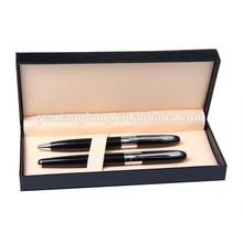 gift box plastic roller ball pen with logo stylus roller ball pen