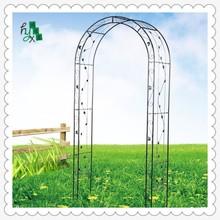 2015 KD version wrought iron garden arch rose arch climbing