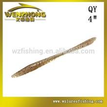 WZ Soft plastic worm lure soft fishing lure/bait