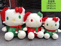 Delicate Mini Toys Safe non-toxic Cat design stuffed toy
