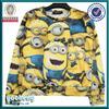 OEM service 100% polyester crewneck custom sublimation hoodies /sweatshirts 100% fleece polyester hoodies sublimation hoodies