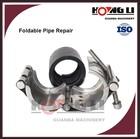 RCD flexible stainless steel/pvc pipe leak repair /sealing clamp