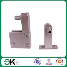 frameless stainless steel glass door bottom pivot