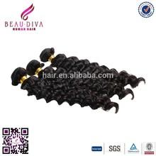 unprocessed virgin Peruvian hair wholesale price products best quality Peruvian virgin hair weft for black women Ripple Deep