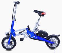 """wholesale 12"""" amazing electric e-bike folding for child"""