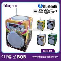 USB/SD/FM Speed Charging High Class volume control switch speaker processor