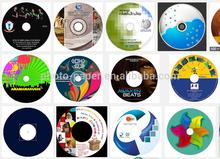 Glossy CD sticker printing