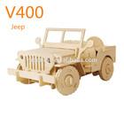 plywood 3D puzzle DIY car