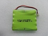 NI-MH 2/3AAA 300mAh 12v Rechargeable battery pack
