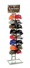 Fashionable best sell more colors metal sport cap display rack