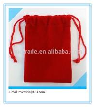 velvet jewelry pouch, velvet bag for Gift Jewelry Cosmetic