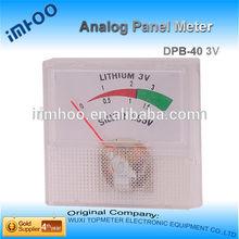 Small Analog Ampere Meter 450v 80*80mm analog panel meter voltmeter ammeter