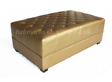 Pu leather bench end of bed