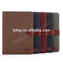 Retro Grid Pattern Wallet Case For iPad mini 1/2/3