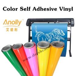 PVC clear plastic vinyl adhesive film for Cutter Plotter Machine