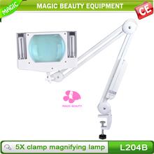 Wholesale magnifier table lamp,desk portable electronic magnifier