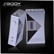 S-BODY 50w mod vv mod most powerful vaporizer spring loaded 510/eGo connector vapor mod electronic cigarette mods