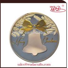 2014 new coming kiribati christmas bell 2oz silver coin
